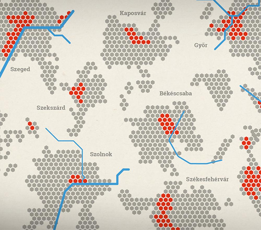 Növekvő városok