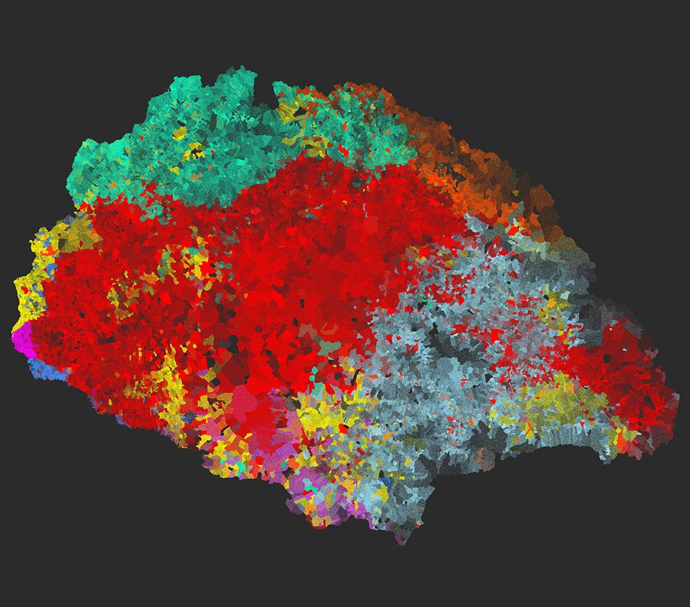 Anyanyelvi-etnikai térkép