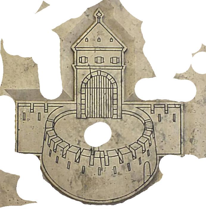 A mai Astoriánál álló egykori Hatvani rondella