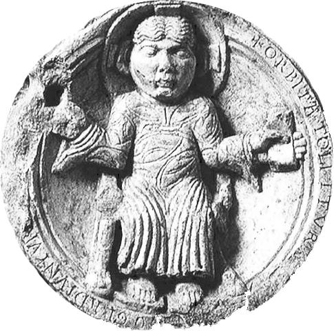 Tabáni Krisztus, lunettatöredék, 12. század második fele, BTM