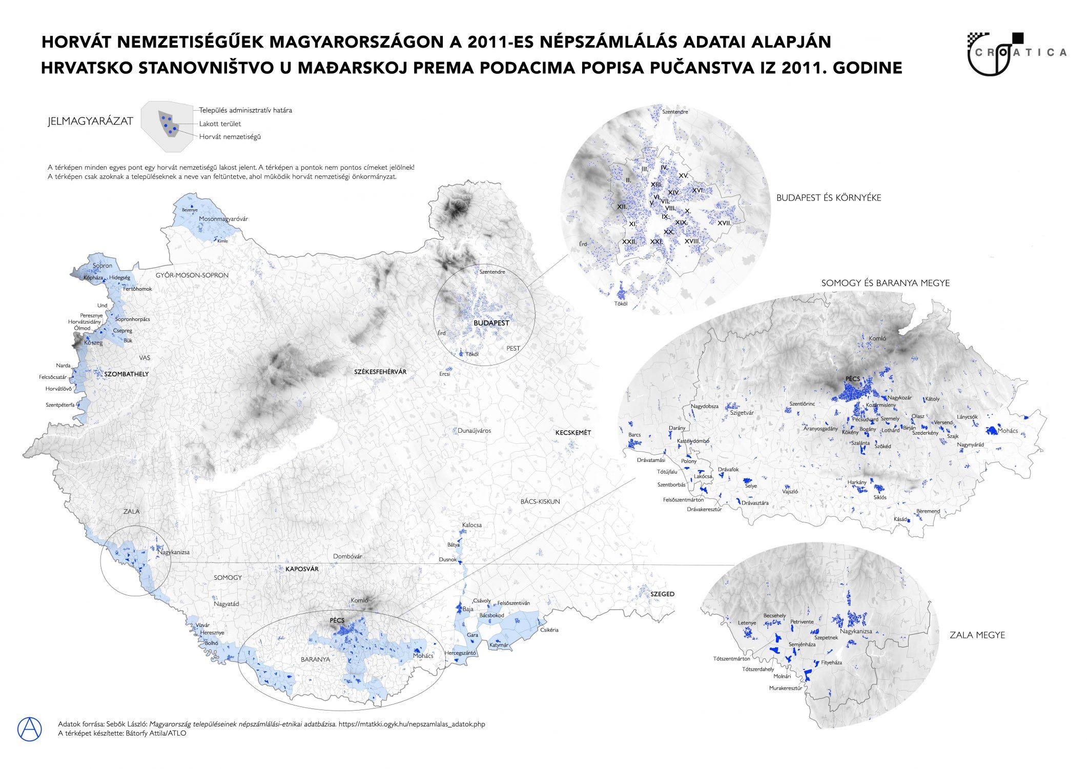 Horvátok Magyarországon a 2011-es népszámlálás alapján / Horvát Nemzetiségi Önkormányzat